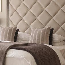 Transitional Bedroom by Helen Turkington Design