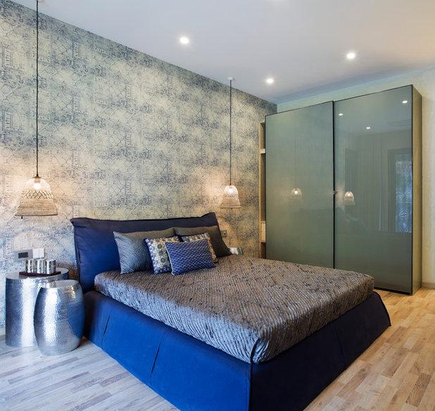 Transitional Bedroom by Fadd Studio