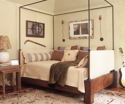 eclectic bedroom by Christy Dillard Kratzer