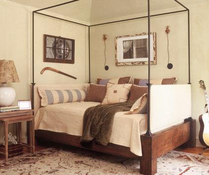 Eclectic Bedroom by Dillard Pierce Design Associates