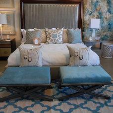 Contemporary Bedroom by Decorum Home + Design
