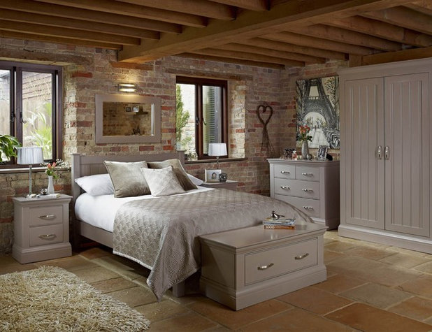 Farmhouse Bedroom by Caseys Furniture