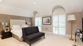 Shutter Installation commissioned for project by Lucy Swallow Interiors