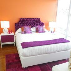 Eclectic Bedroom by Rena Poulsen Design