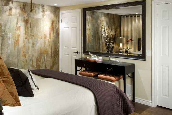 Modern Bedroom by Vahallan Papers