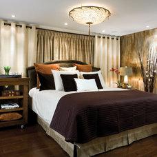 Modern Bedroom by Vahallan Papers