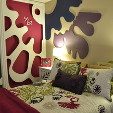 Eclectic Bedroom by Nicole Jordan Designs
