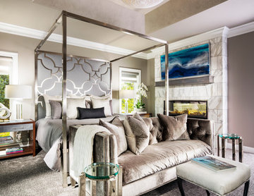 Silver Glam Master Suite