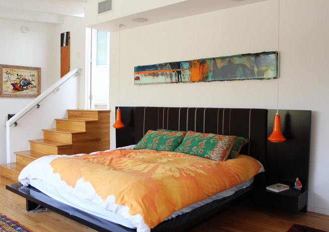 contemporary bedroom by Design Vidal