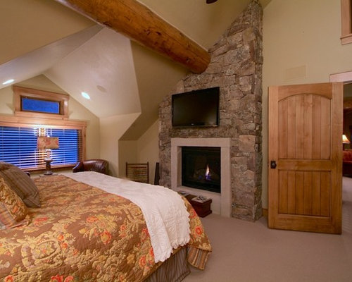 Rustic master bedroom houzz Traditional rustic master bedroom