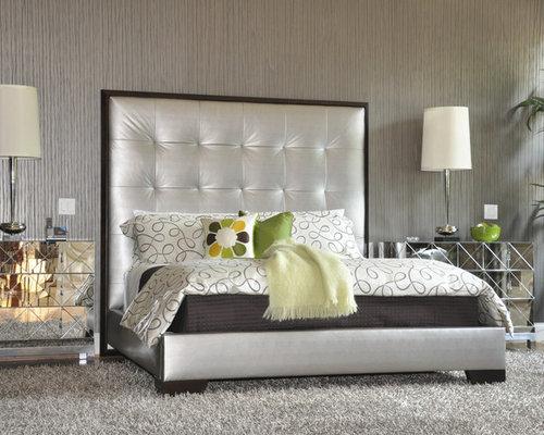 High back bed houzz - Designs of bed back ...
