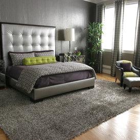 contemporary bedroom by Simone Alisa