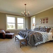 Craftsman Bedroom by Divine Custom Homes