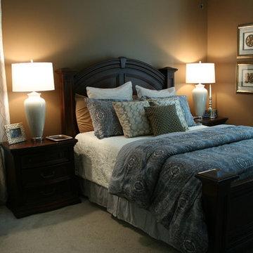 Simpson Residence bedroom