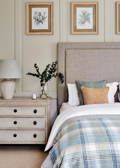 Traditional Bedroom by Sims Hilditch