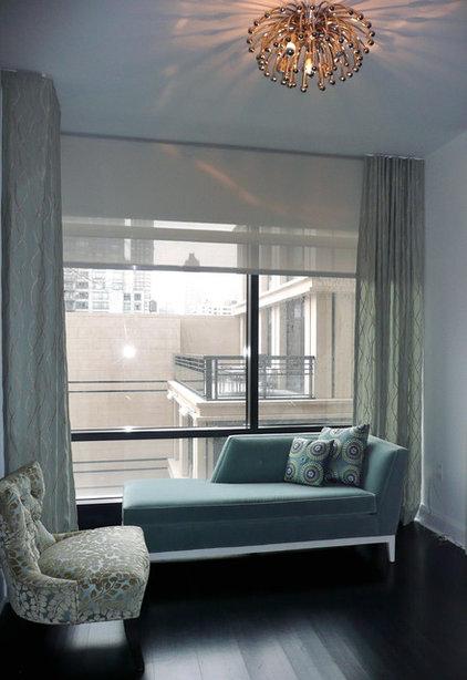 Contemporary Bedroom by Nicole Freezer Rubens