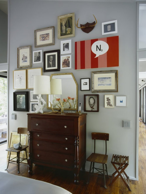 Antique modern mix houzz for Modern eclectic furniture