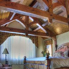 Farmhouse Bedroom by Maraya Interior Design