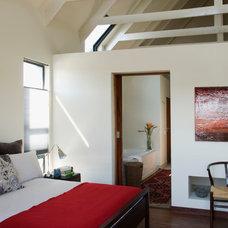 Contemporary Bedroom by NuP Design
