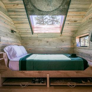 Diseño de dormitorio rural pequeño