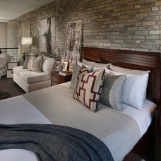 Contemporary Bedroom by Coronado Stone Products
