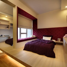 Contemporary Bedroom by 2nd Phase Design