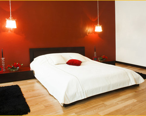 Our 11 Best Light Wood Floor Bedroom with Red Walls Ideas