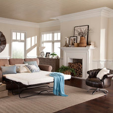 Beach Style Bedroom by PlushBeds