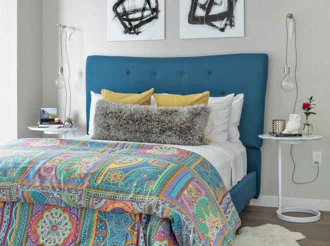 Contemporary Bedroom by Reardon | Peloso Interior Design