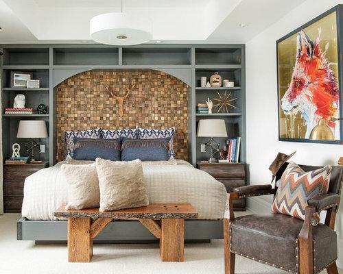 Southwestern Bedroom Ideas & Design Photos | Houzz