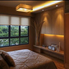 contemporary bedroom Small Bedrooms
