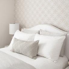 Contemporary Bedroom by Cory Connor Designs