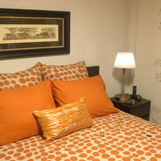 Contemporary Bedroom by Joanne Fairmont Yinger