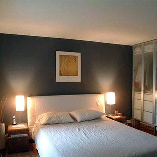 Example of a trendy bedroom design in Philadelphia
