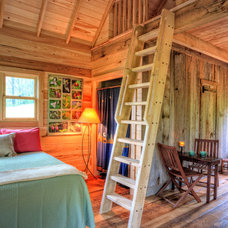 Rustic Bedroom by William Britten