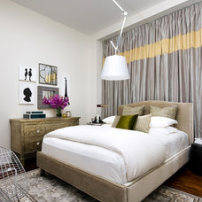 Eclectic Bedroom by Toronto Interior Design Group | Yanic Simard