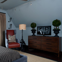 contemporary bedroom by Jeffrey King Interiors
