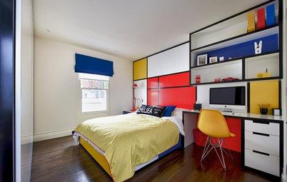 Gelb, Rot, Blau: Einrichten mit den Bauhaus-Farben – so geht's!
