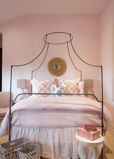 Transitional Bedroom by Kelly I Designs