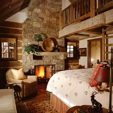 Rustic Bedroom by JLF & Associates, Inc.