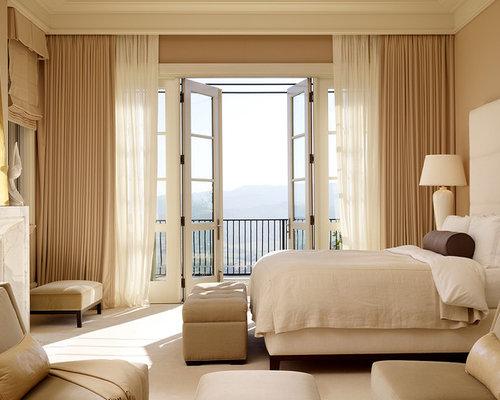 bedroom drapes houzz
