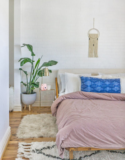 Contemporary Bedroom by Two Gals Interiors
