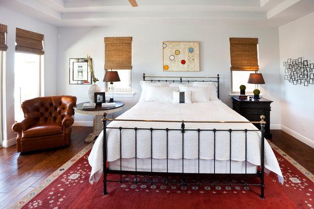 Rustic Bedroom by Kerrie Kelly Design Lab