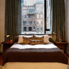 Eclectic Bedroom by 8.8 Design