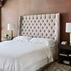 Contemporary Bedroom by Magdalena Keck Interior Design