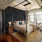 Flatiron Loft Renovation Eclectic Bedroom New York