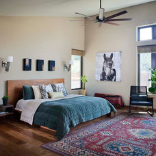 Eclectic Bedroom by KW Designs