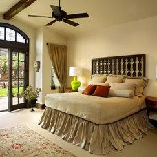 Mediterranean Bedroom by MQ Architecture & Design, LLC