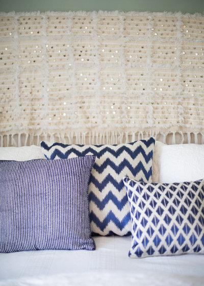 Eclectic Bedroom by Kari McIntosh Design