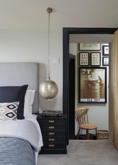 Casa de campo Dormitorio by Nicola O'Mara Interior Design